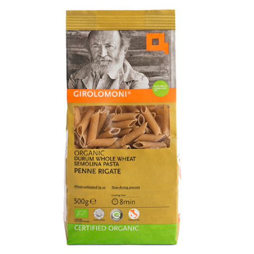Girolomoni Organic Whole Durum Wheat Semolina Penne