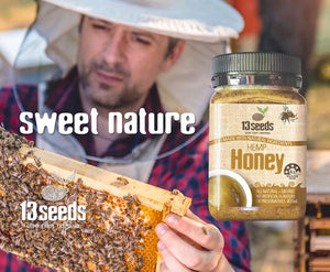 13 SEEDS Hemp Honey 400ml