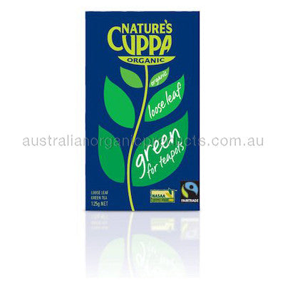 Nature's Cuppa Organic Green Leaf Tea 125g