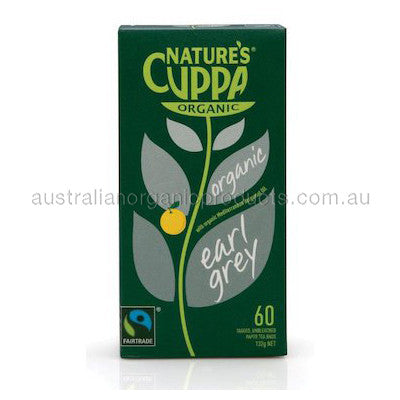 Nature's Cuppa Organic Earl Grey Tea 60 tbags