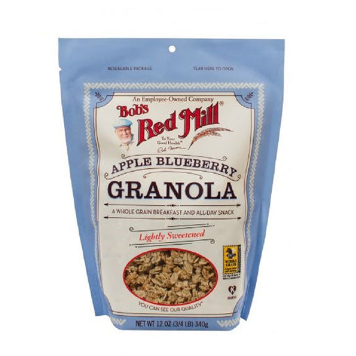 Bob`s Red Mill Pure Wheat Free Apple Blueberry Granola