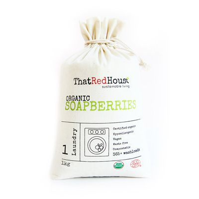 THAT RED HOUSE Organic Soapberries 1kg Natural Laundry Detergent