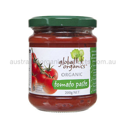 Global Organics Tomato Paste Organic (Glass) 200g