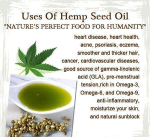 HEMP FOODS AUSTRALIA Organic Hemp Seed Oil 500ml