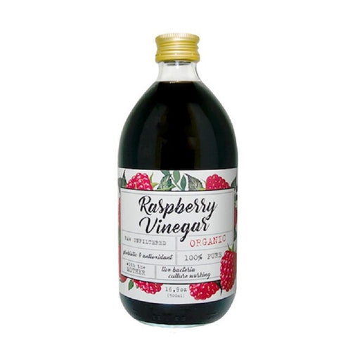 Ecovinal Organic Raw Unfiltered Raspberry Vinegar