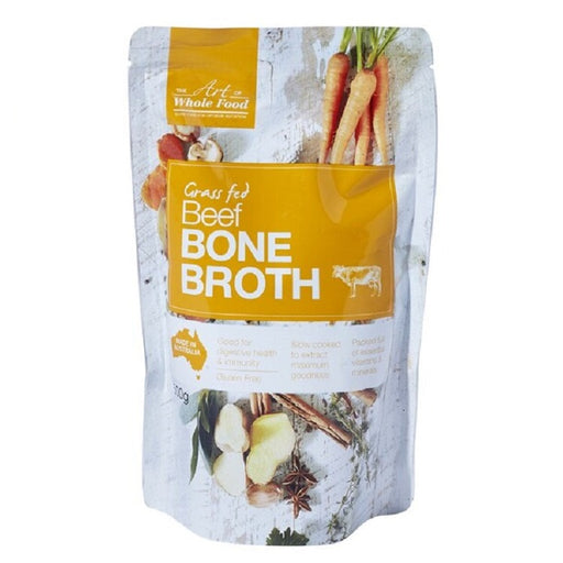 The Art of Whole Food Grass Fed Beef Bone Broth