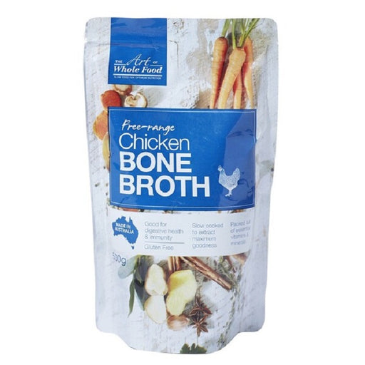 The Art of Whole Food Free Range Chicken Bone Broth