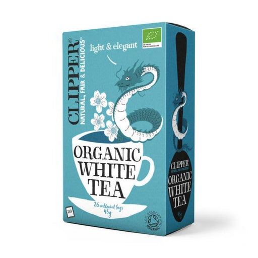 CLIPPER Organic White Tea 26 tbags
