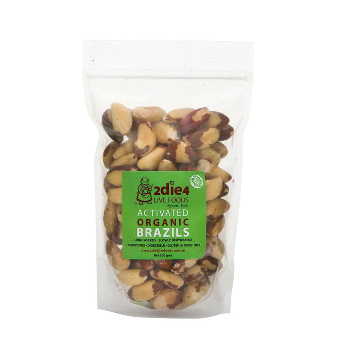 2DIE4 LIVE FOODS Activated Organic Brazil Nuts