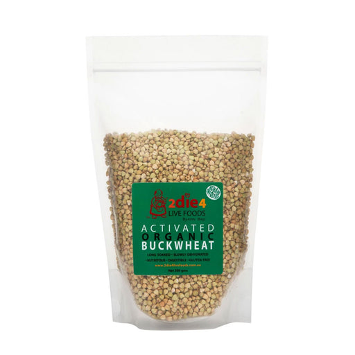 2DIE4 LIVE FOODS Activated Organic Buckwheat