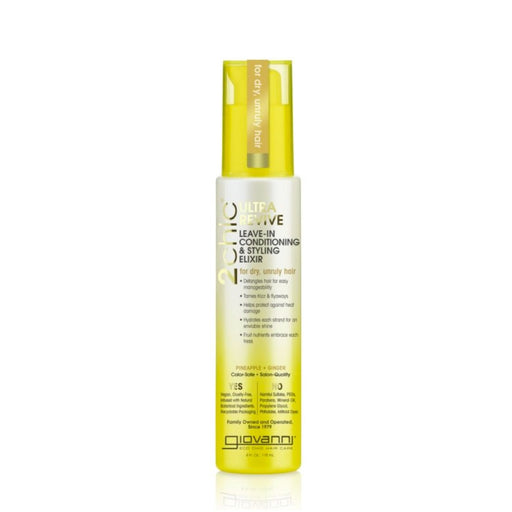 GIOVANNI Leave-In Conditioner - 2chic Ultra-Revive (Dry, Unruly Hair) 118ml