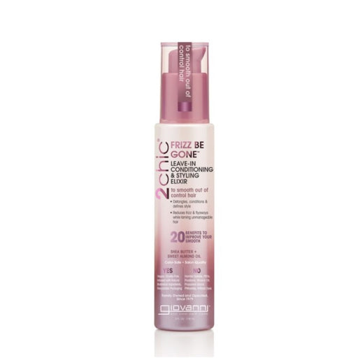 GIOVANNI Leave-in Conditioner 2CHIC Frizz Be Gone for Frizzy Hair 118ml