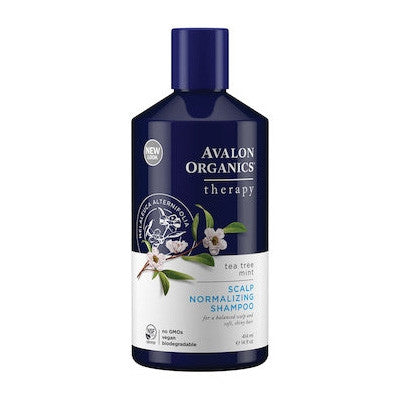 Avalon Organics Active Shampoo Tea Tree Mint Treatment 400mL