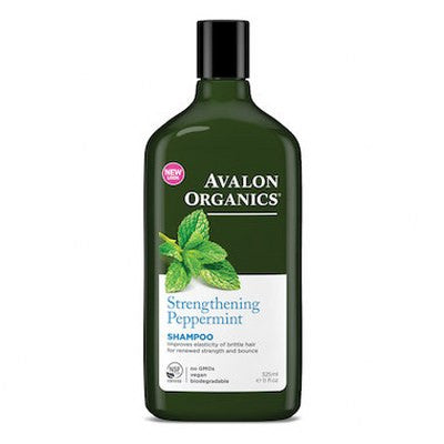 Avalon Organics Hair Shampoo Peppermint 325mL