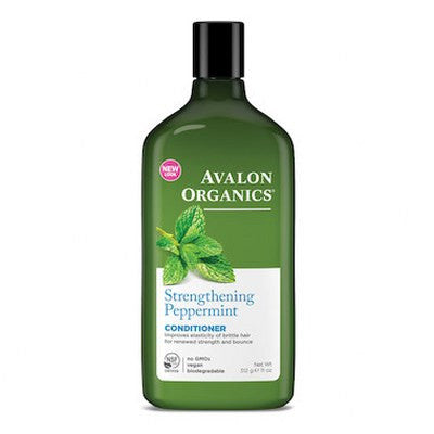 Avalon Organics Hair Conditioner Peppermint 325mL