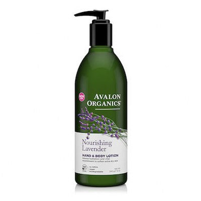 Avalon Organics Hand & Body Lotion Lavender 350mL