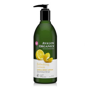 Avalon Organics Hand & Body Lotion Lemon 350mL