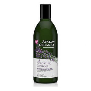 Avalon Organics Bath & Shower Gel Lavender 350mL