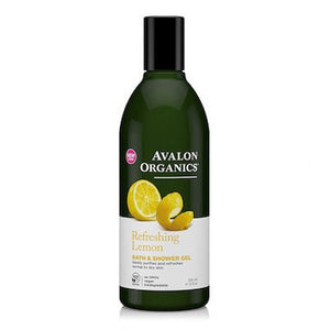 Avalon Organics Bath & Shower Gel Lemon 350mL