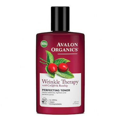 Avalon Organics Wrinkle Therapy Perfecting Toner 237mL
