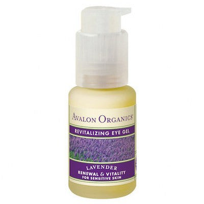 Avalon Organics Lavender Eye Gel Revitalising 30g