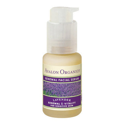 Avalon Organics Lavender Renewal Facial Serum 30mL