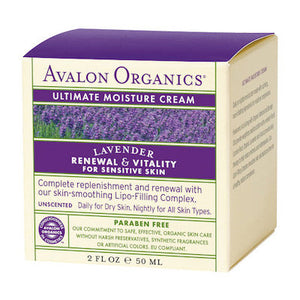 Avalon Organics Lavender Ultimate Moisture Cream 50g