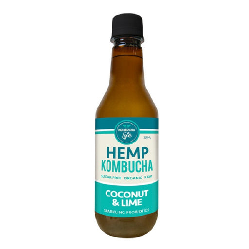 Kombucha Life - Organic & Raw Hemp, Coconut & Lime
