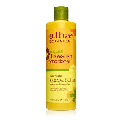 Alba Hawaiian Real Repair Organic Hair Conditioner w Cocoa Butter 350mL