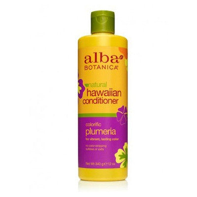 Alba Hawaiian Coloured Hair Organic Conditioner Plumeria 340mL