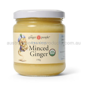 The Ginger People Ginger Minced Organic 190g