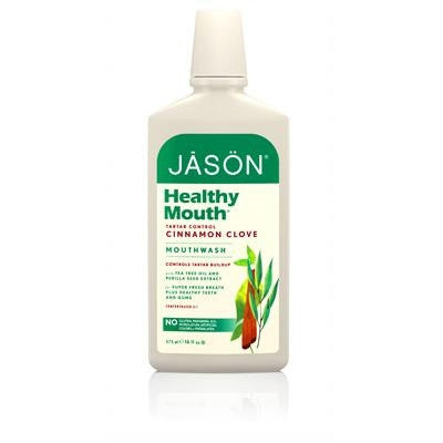 Jason Organic Mouthwash Healthy Mouth Tartar Contol 473mL