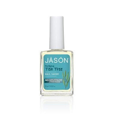 Jason Organic Oil Purifying Tea Tree Nail Saver 15mL