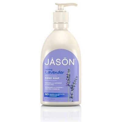 Jason Organic Hand Soap Calming Lavender 473mL