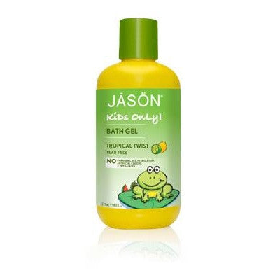Jason Organic Bath Gel Kids Tropical Twist 236mL