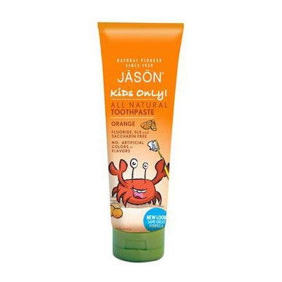 Jason Organic Children Toothpaste Orange 125g
