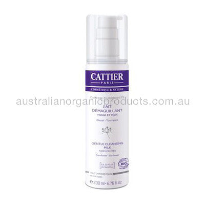 Cattier Cleansing Milk Face & Eyes Caress d'Herboriste 200mL
