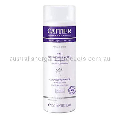 Cattier Cleansing Water Sensitive Eyes Petale D'Iris 150mL