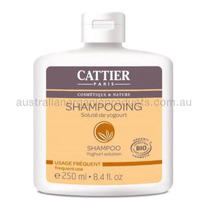Cattier Shampoo Yoghurt Solution Frequent Use 250mL