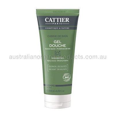 Cattier Shower Gel For Men Baine De Bain 200mL