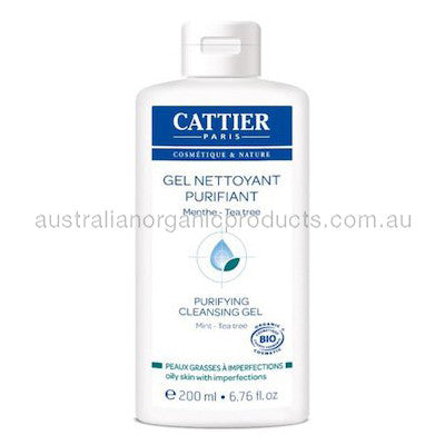 Cattier Purifying Cleansing Gel Oily Skin with Imperfections 200mL