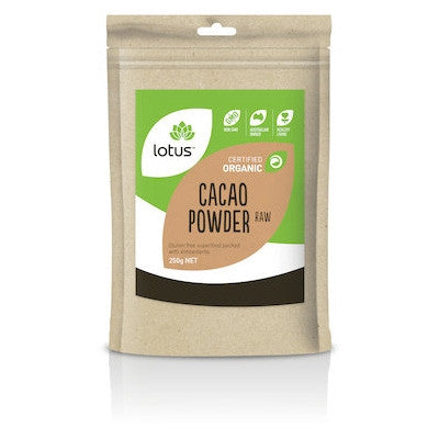 Lotus Organic Raw Cacao Powder 250g