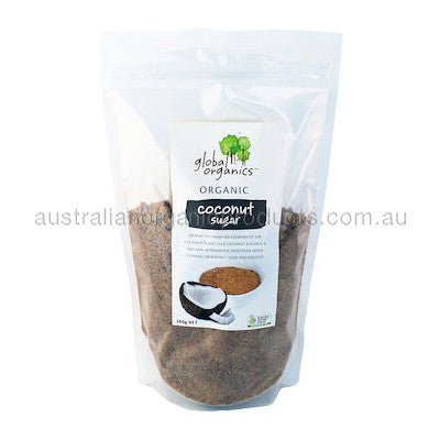 Global Organics Coconut Sugar Organic 500g