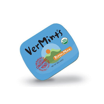 Vermints Organic Peppermint Mints 40g