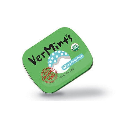 Vermints Organic Wintergreen Mints 40g