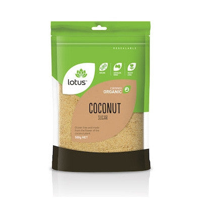 Lotus Organic Coconut Sugar 500g