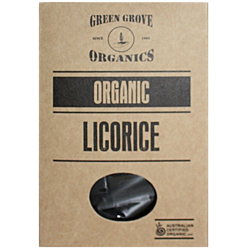 GREEN GROVE Organic Licorice 180gm