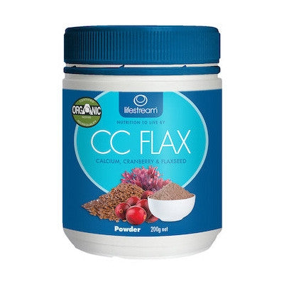Lifestream Organic Cranberry, Calcium and Flaxseed Powder 200g