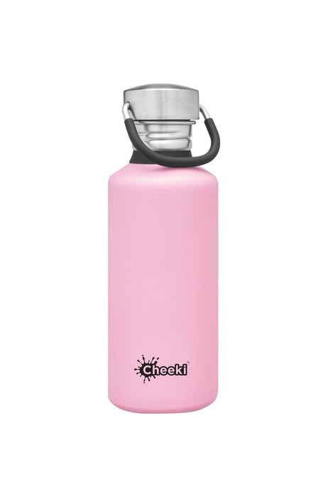 CHEEKI Stainless Steel Bottle 500ml Pink