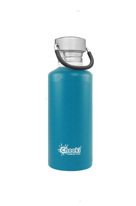 CHEEKI Stainless Steel Bottle 500ml Topaz